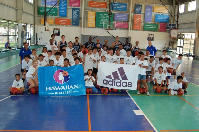 adidas Hoops Clinics Presented by Hawaiian Airlines in Full Swing